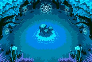 Secretive Forest