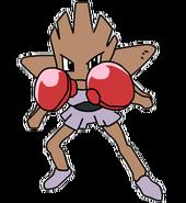 107Hitmonchan OS anime 2