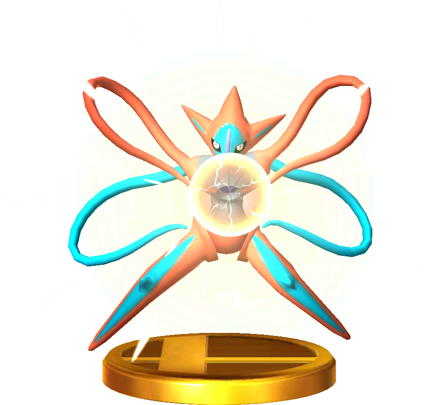 File:Deoxys trophy SSB3DS.png