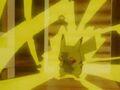 Pikachu's Thunderbolt attempt