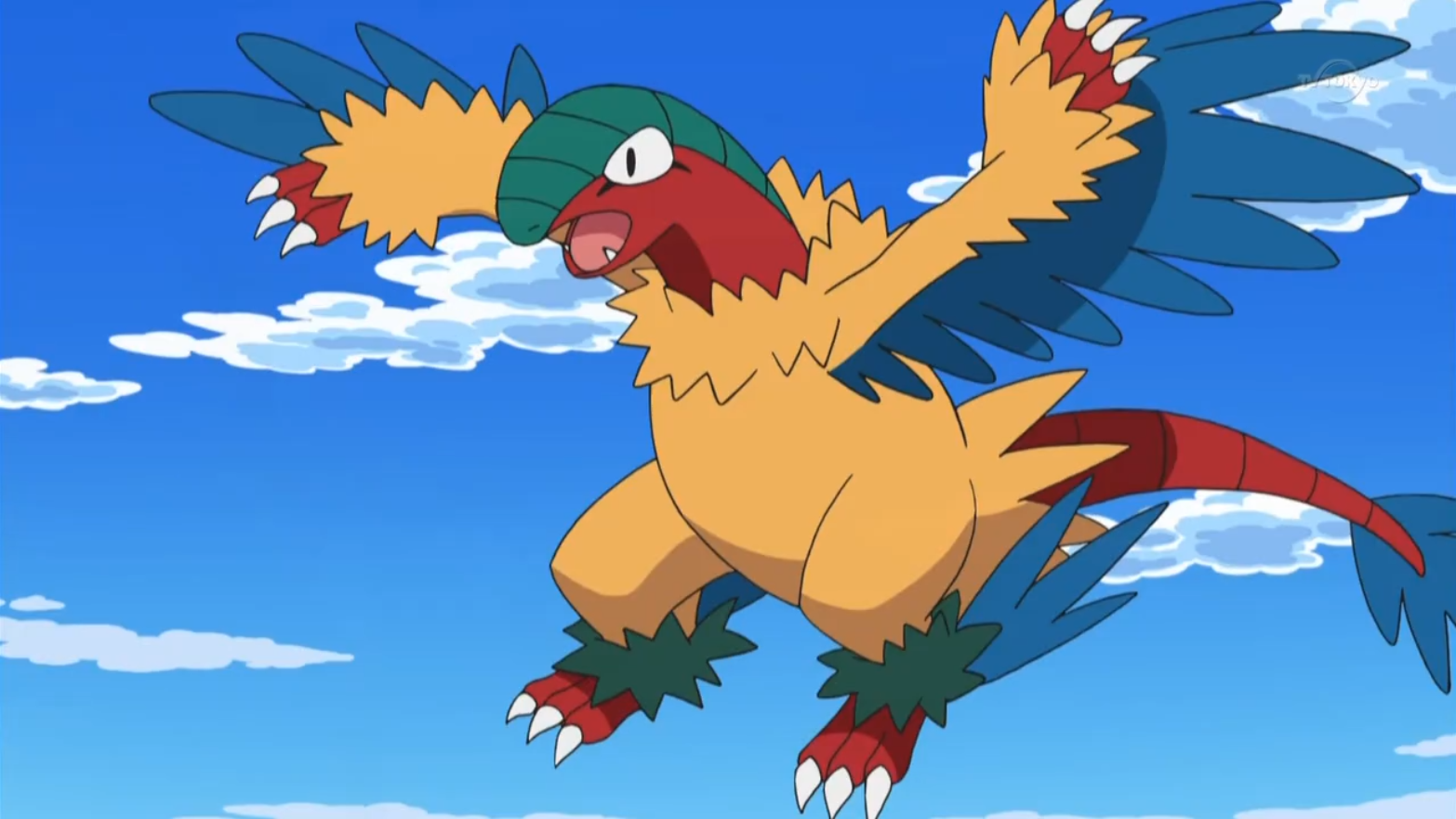 Archeops Anime Pok 233 Mon Wiki Fandom Powered By Wikia