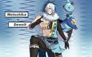Pokemon Conquest -Motochika with Dewott
