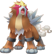 244Entei Pokemon Super Mystery Dungeon