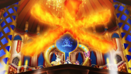 Aria Delphox Fire Blast