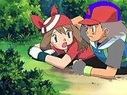 Ash and may sneaky