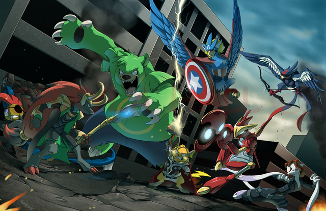File:Pokevengers by astrozerk-d5gm586.png