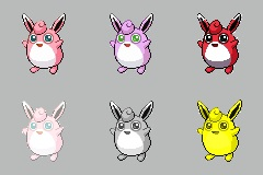 Wigglytuff Forms