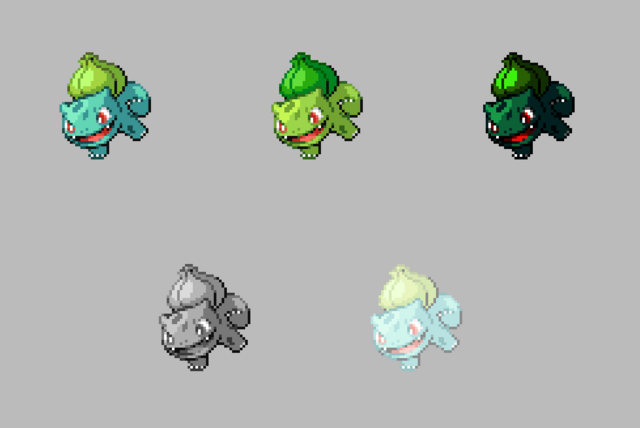 File:001 Bulbasaur Forms.png