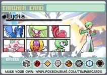 Trainercard-Lydia