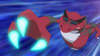 Ash Krookodile Dragon Claw