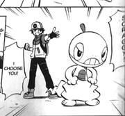 Ash Scraggy M14 manga