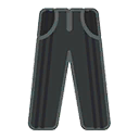 Pants F Grey Black