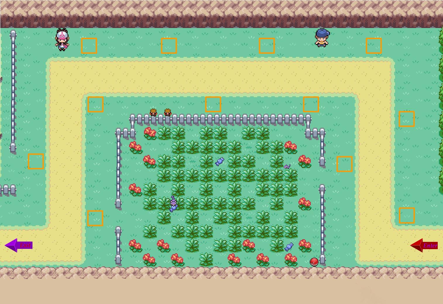 Pokemon center ptd 2 trading center - Layout