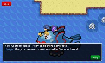 Cinnabar Island Seafoam