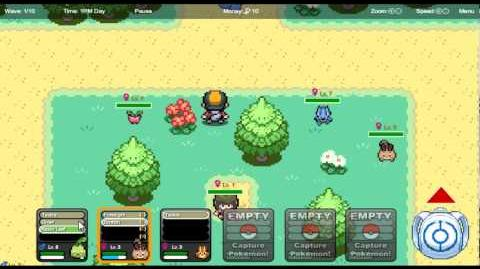 Pokemon Tower Defense 2 Walkthrough Ep. 2 - Vanish Lady...