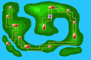 Map Yggdrasil Cave