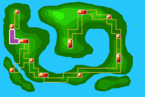 Map Route 2X