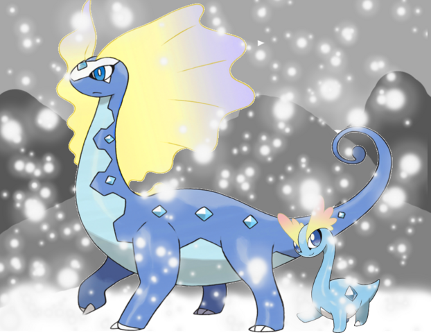 File:Aurorus and amaura s icy reception by shockwave4494-d6xgdbg.png