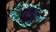 Jirachi in Mysterious Rock