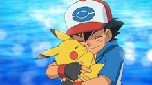 Ash and his Pikachu