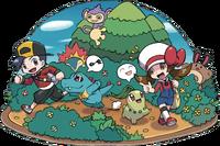 HGSS Walking Pokémon