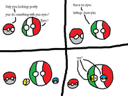 Italy cannot into Eyes