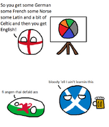 5. English...is a bit complicated