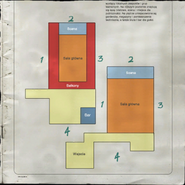 The Sellers Street Auditorium Map