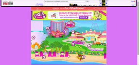 Polly Pocket website 2006 map