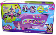 Polly Pocket Jumbo Jet