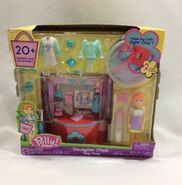 Polly Pocket Designer Mall Toy Shop Lea