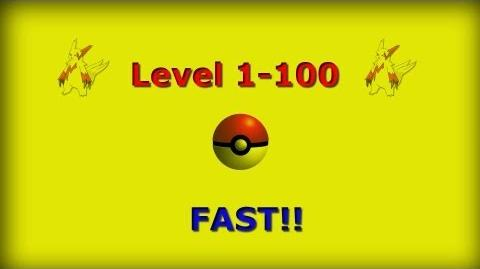 Pokemon Black & White Level 1-100 FAST!!
