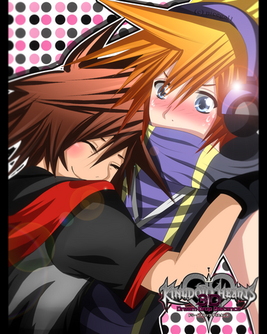 File:Sora and neku by nicegal1-d57wi3v.png