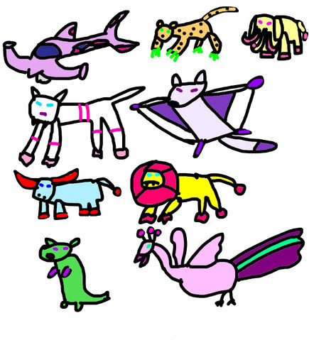 File:Animal Zords.jpeg