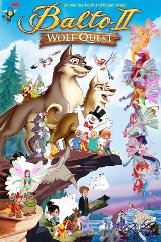 File:Winnie the Pooh and Bloom Meet Balto II Wolf Quest Poster (Remake).jpeg