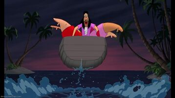 Captain Hook, Mr. Smee and Pirate Crew's defeat (2nd film)