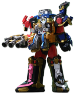 Ninja Steel Megazord Gun Mode