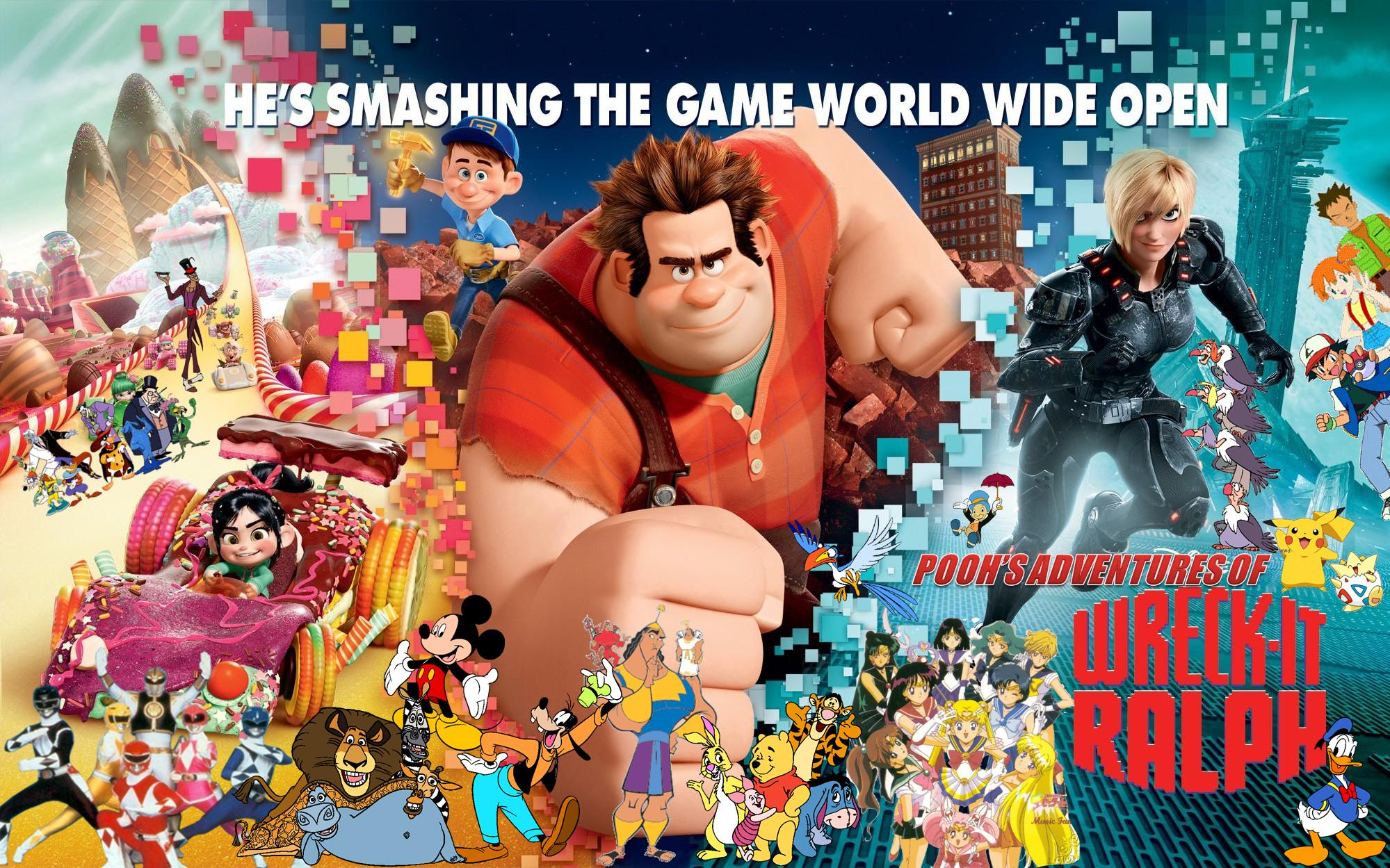 Pooh's Adventures of Wreck-it Ralph Poster