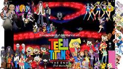 Weekenders Adventures of Teen Titans The End (Full Movie) Poster-0
