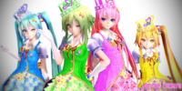 MMD Magical Girls, Set 1