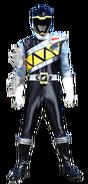 Dino Charge Black Ranger in Dino Steel