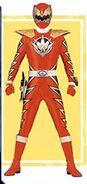 Red Dino Triassic Ranger