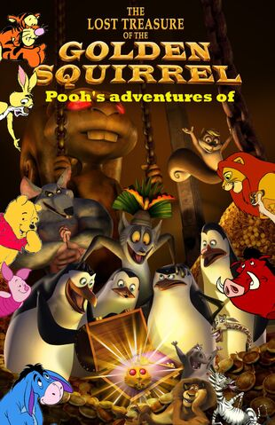 File:Pooh's adventures of The Penguins of Madagascar The Lost Treasure of The Golden Squirrel Poster.jpg