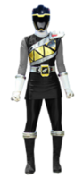 Dino Charge Black Ranger (Skirted)