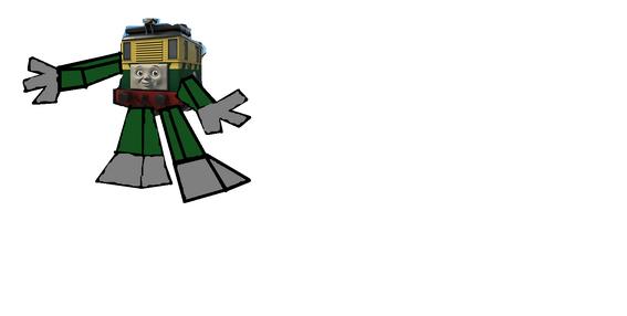 Philip as a Trainsformer