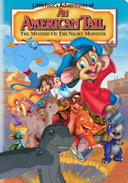 File:Littlefoot's Adventures of An American Tail; The Mystery of the Night Monster Poster.jpg