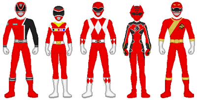 Legendary Red Rangers