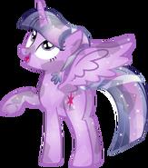 Crystal Alicorn Twilight Sparkle