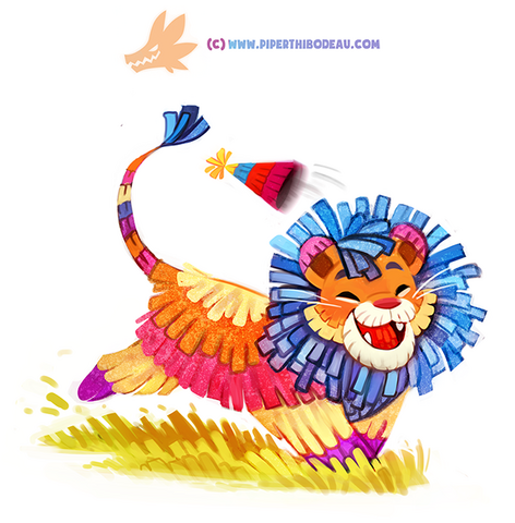 File:Daily paint 1292 party animal by cryptid creations-da55i8f.png