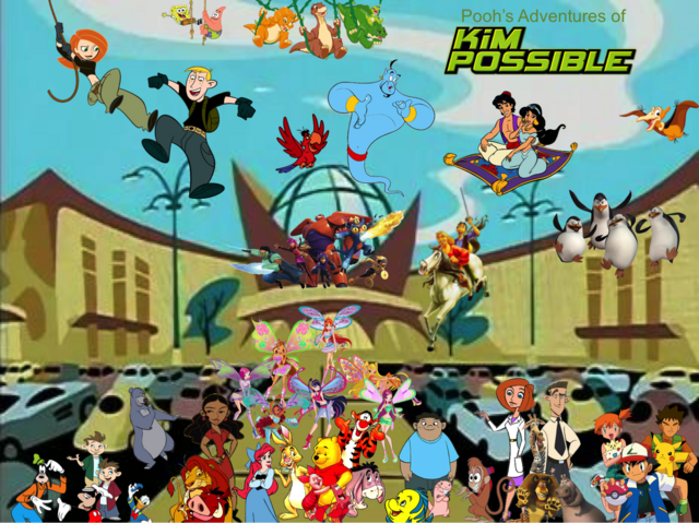 File:Pooh's Adventures of Kim Possible Season 1 Poster (Believix).png